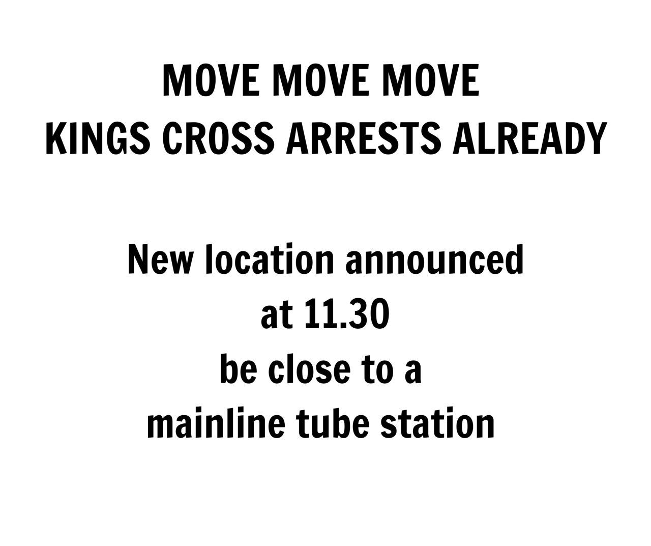 Unite for Freedom - MARBLE ARCH - FINAL - STAY AWAY FROM KINGS CROSS UPDATE COMING ON TELEGRAM