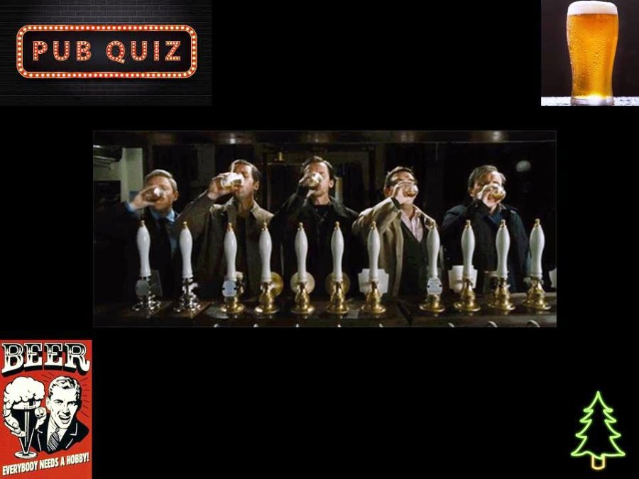 World's End Pub Quiz - 2020